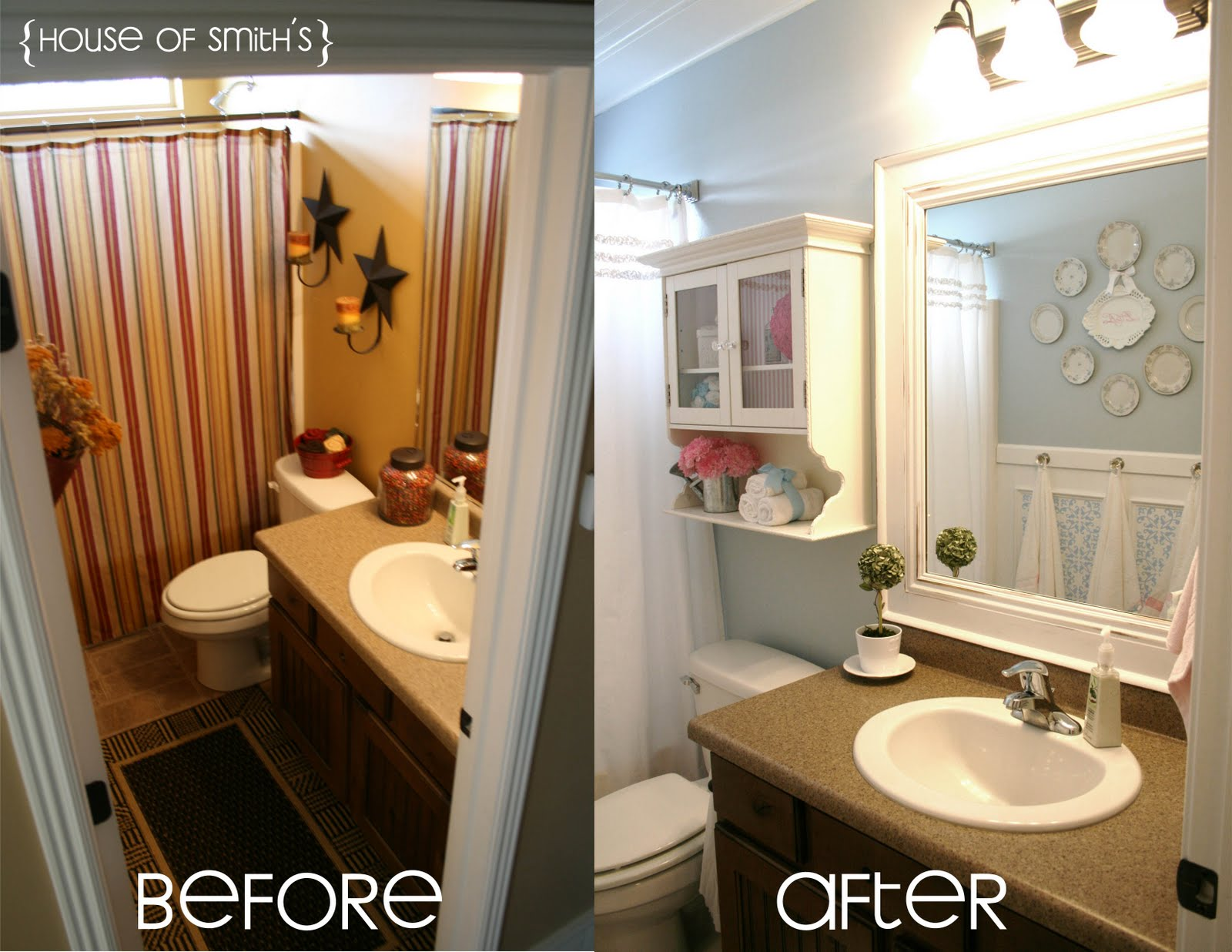 I never grew up monday s maven - S bathroom remodel before and after ...