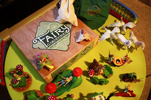 Santa Set Up The Fairies, Their Furniture, Musical Instruments, Blocks And  The Fairy Garden Kit On A Table With A Note Explaining How The Stars Led To  The ...