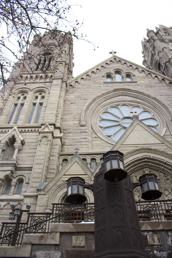 The Cathedral of the Madeleine in Salt Lake City