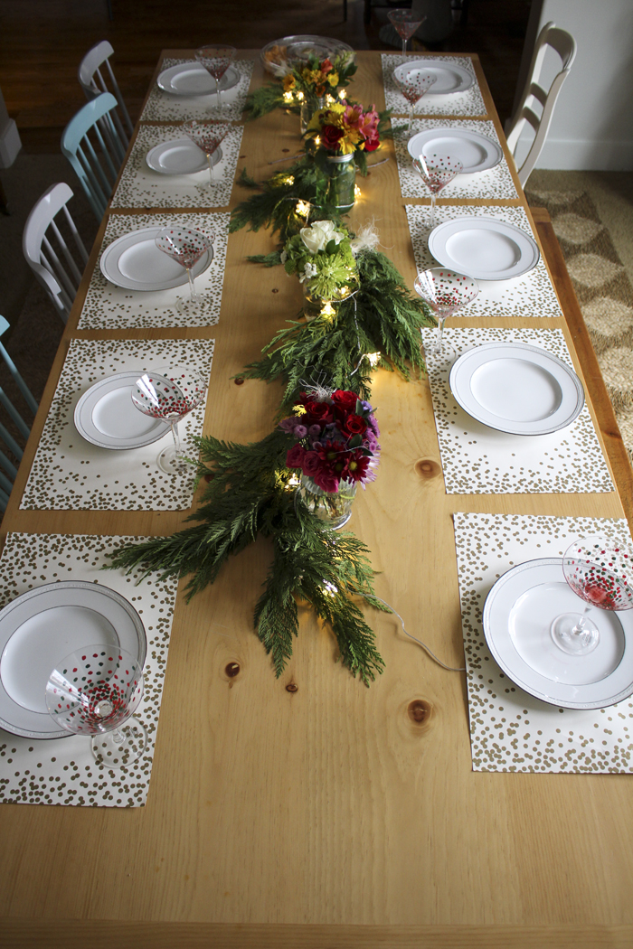 christmasfloraltable