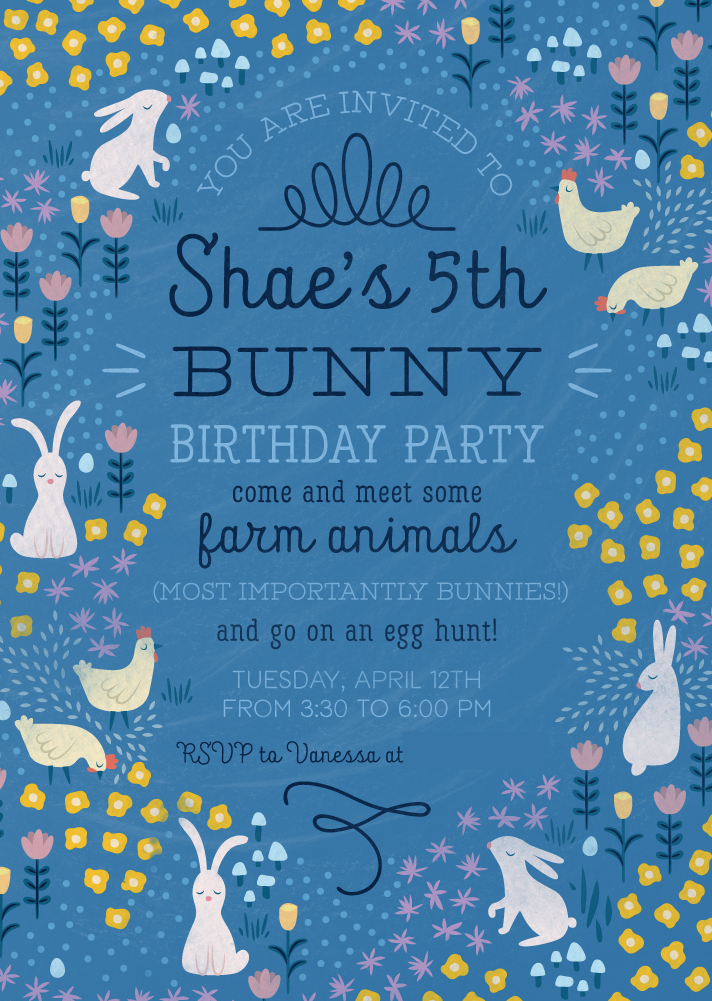 shaes5thbirthdayinvite